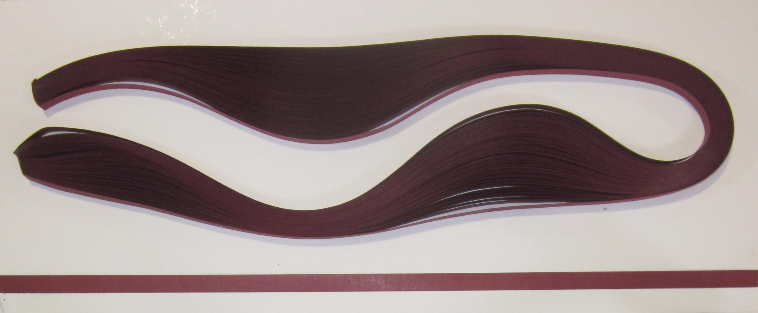 PAPEL QUILLING 306, 3MM. GRANATE